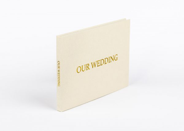 Wedding Video Books - Our Wedding