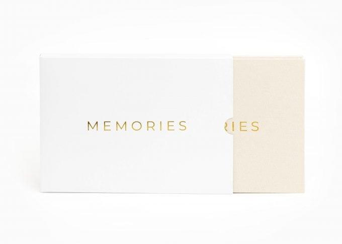 Wedding Video Books - MEMORIES - Box Gold